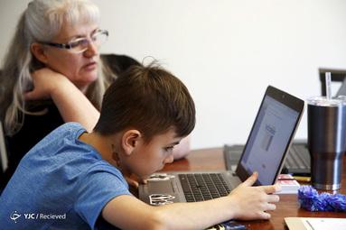 آموزس آن لاین کلاس های مجازی در واشنگتن بخاطر شیوع کرونا