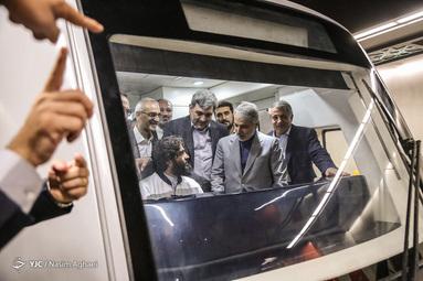 افتتاح ایستگاه میدان محمدیه در خط ۷ مترو