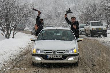 برف در ایلام