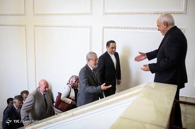 دیدار بشیر الحداد با وزیر امور خارجه