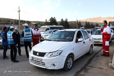 کرونا حریف ترافیک جاده های منتهی به شیراز و عدم سفرهای نوروزی نشد