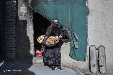 زینب شریفی یک زن نانوا در کابل پایتخت افغانستان است