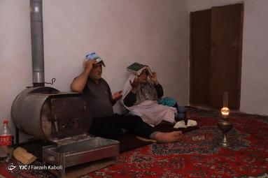 احیای شب بیستویکم رمضان - گلستان