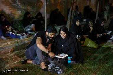 احیای شب بیستوسوم رمضان - هیئت ریحانه الحسین