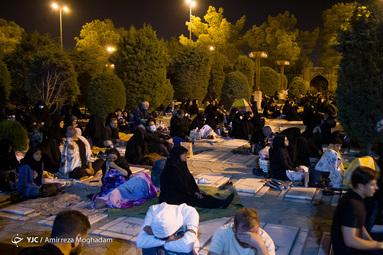 احیای شب بیستوسوم رمضان - گلزار شهدای بهشت زهرا(س)