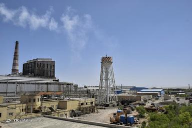 شهرک صنعت مس خاتون آباد در استان کرمان، دارای خطوط تولید اسید سولفوریک،اکسیژن و مذاب مس