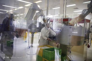 افتتاح خط تولید ماسک سه لایه، شیلد و  آنژیوکت