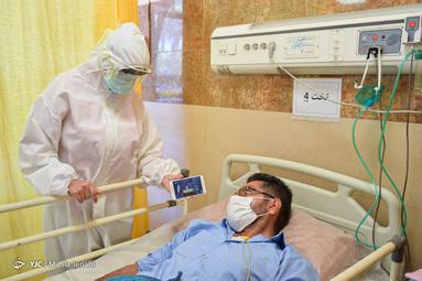 گوش فرا دادن به سخنرانی روز (day) جهانی قدس مقام معظم رهبری بوسیله بیماران بیمارستان شفا - کرمان
