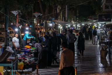 خرید شب عید فطر یکی از رسوم مردم شهر مریوان است
