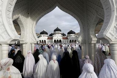 نماز عید فطر در اندونزی