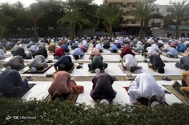 نماز عید فطر در تایلند