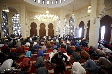 نماز عید فطر در غزه