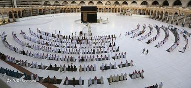 نماز عید فطر در مکه