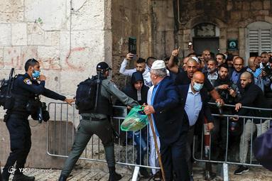نماز عید فطر در فلسطین اشغالی