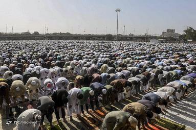 نماز عید فطر در کراچی پاکستان