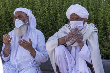 اقامه نماز عیدسعیدفطر - اهل تسنن مشهد