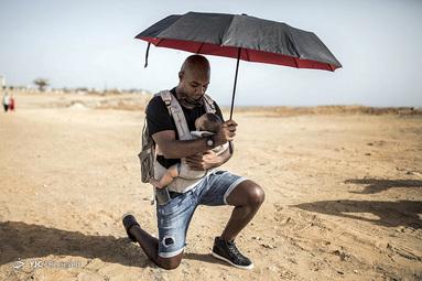 اعتراض به همبستگی با جنبش Black Lives Matter در داکار، سنگال