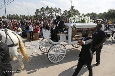 مراسم تشییع جنازه  جورج فلوید در هیوستون، تگزاس