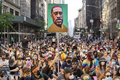 معترضین به همبستگی اصلاحات پلیس در شهر نیویورک