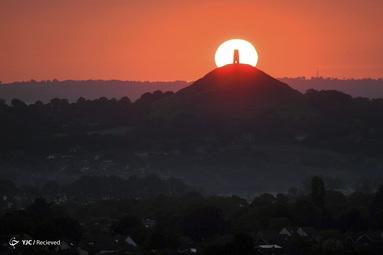 طلوع خورشید در انگلیس