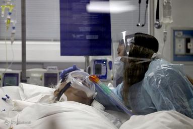 بخش مراقبت های ویژه در بیمارستان بالینی دانشگاه شیلی در سانتیاگو، شیلی