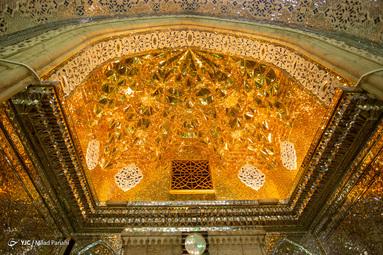 آرامگاه حضرت سید میراحمد معروف به شاهچراغ برادر حضرت امام رضا (ع) در شهر شیراز