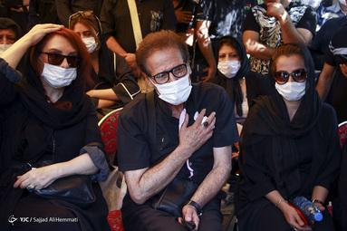 مراسم تشییع پیکر سیروس گرجستانی