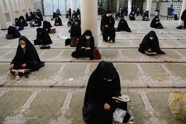 برگزاری مراسم دعای عرفه - مسجد دانشگاه تهران
