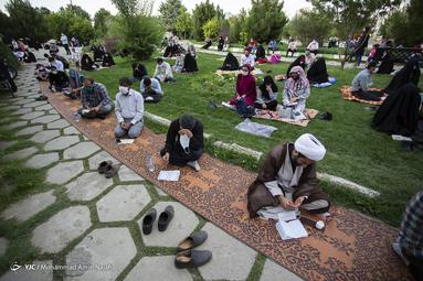 برگزاری مراسم دعای عرفه - همدان