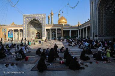 برگزاری مراسم دعای عرفه - حرم حضرت معصومه  (س)