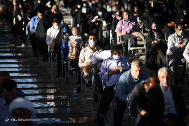 برگزاری مراسم دعای عرفه - گلزار شهدای تبریز