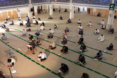 برگزاری مراسم دعای عرفه - مسجد جامع خرمشهر