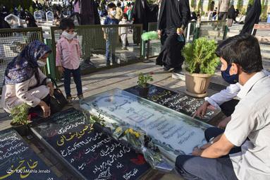 برگزاری مراسم دعای عرفه - گلزار شهدای کرمان