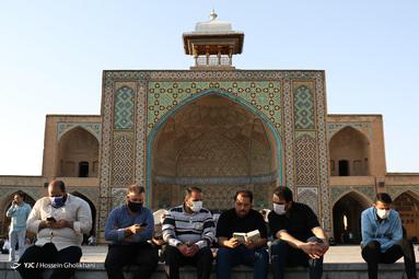 برگزاری مراسم دعای عرفه - مصلی قزوین