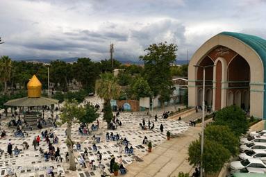 برگزاری مراسم دعای عرفه - امامزاده عبدالله گرگان