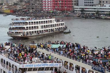 عید قربان در داکا، بنگلادش
