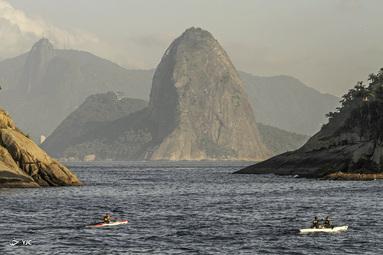 ساحل Piratininga در Niteroi، برزیل