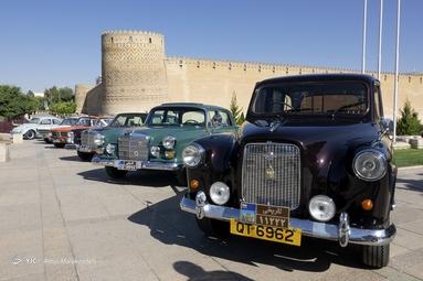 نمایشگاه خودروهای کلاسیک - شیراز