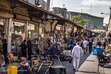 بافت فرسوده و تراکم جمعیت - بازار امام حسین (ع)