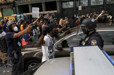 ازسرگیری اعتراضات ضد نژاد پرستی در آمریکا