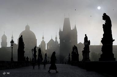 طلوع خورشید در پراگ، جمهوری چک