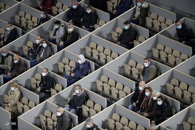 تماشاگران مسابقات تنیس آزاد فرانسه