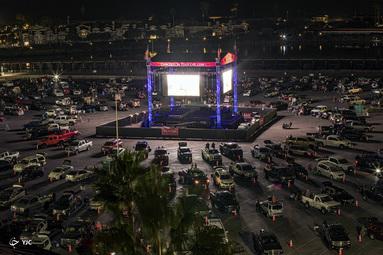 کنسرت در کالیفرنیا
