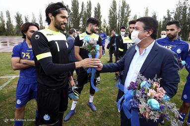 اولین تمرین تیم فوتبال استقلال با محمود فکری