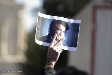 مراسم تشییع استاد محمدرضا شجریان در طوس