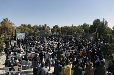 مراسم خاکسپاری پیکر محمدرضا شجریان - توس