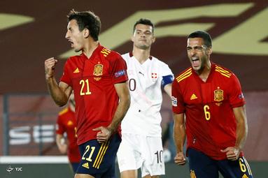 لیگ ملتهای اروپا / اسپانیا ۱ - سوئیس ۰