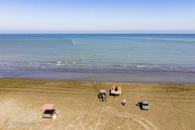 آغاز فصل صید ماهی - دریای خزر