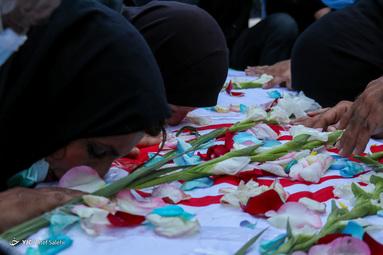 مراسم تشییع و تدفین پیکر مطهر شهید