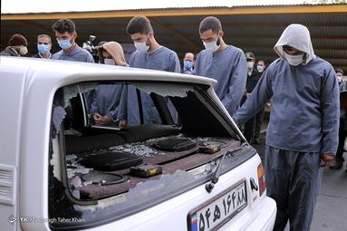 دستگیری زورگیران آزادراه تهران - شمال